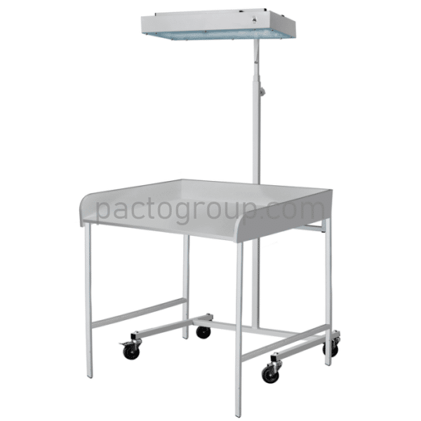 Phototherapeutic irradiator OFP-02 with changing table