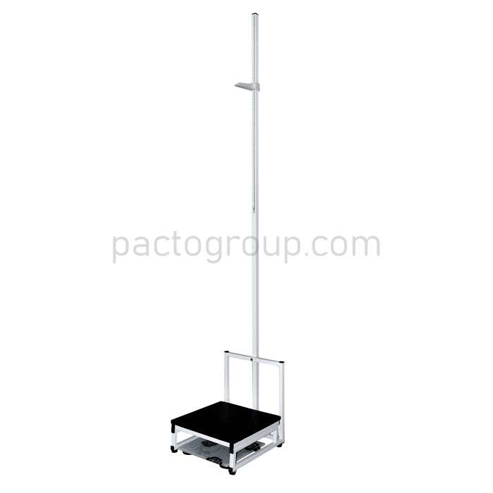 Floor-mounted stadiometer with scales RPV-2000