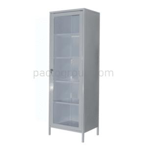Univalve medical cabinet with safe SHМ-1