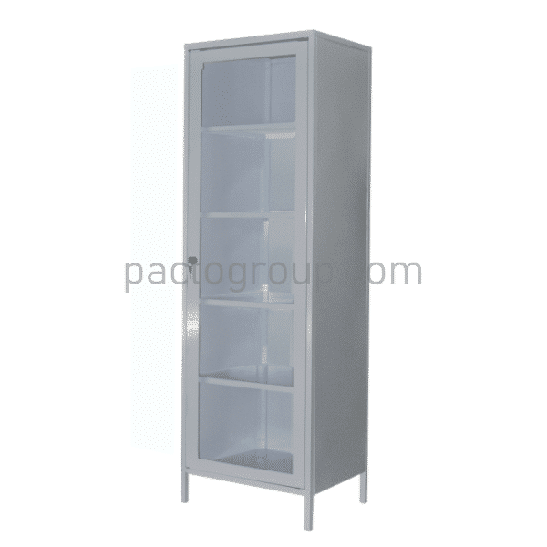Univalve medical cabinet with safe SHМ-1