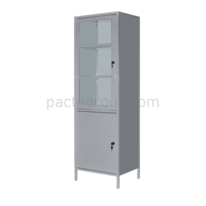 Univalve medical cabinet with safe SHМ-1S