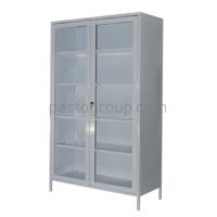 Bivalve medical cabinet with safe SHМ-2