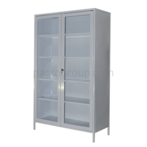 Bivalve medical cabinet with safe SHМ-2