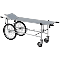 Strengthened cart for transportation of patients with removable stretchers ТBS-150u