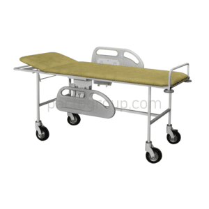 Cart for transportation of patients with handrails ТPB-P