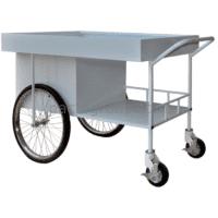 Strengthened cart for food transportation ТPP-U