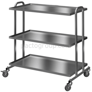 Cart for drums transportation ТКSК stainless steel