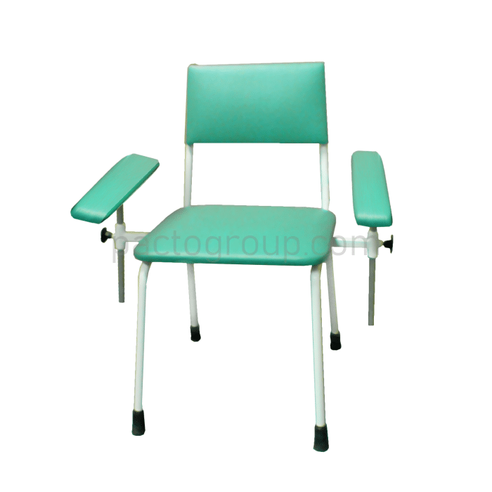 Donor chair with two armrests