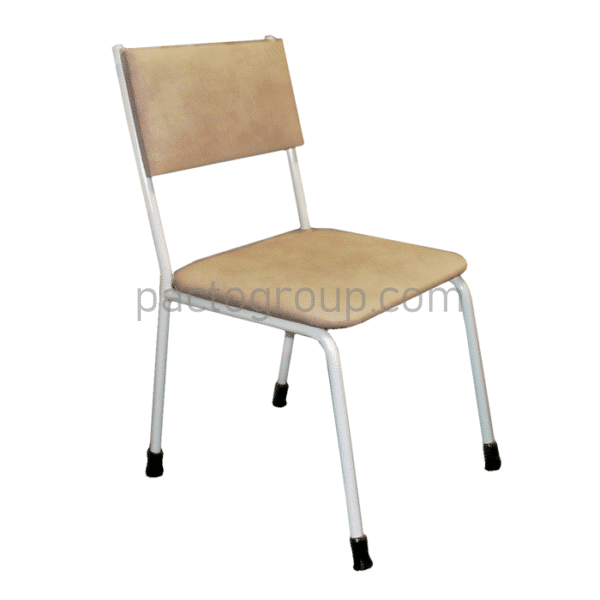 Stationary chair with backrest SD