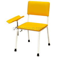 Donor chair with armrest