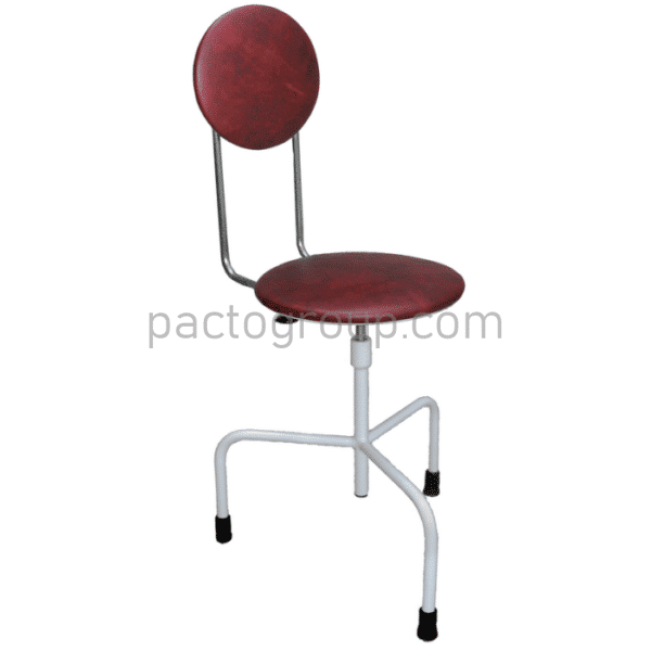 Screw chair with backrest SVS