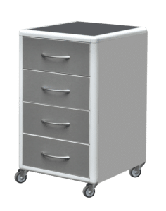 Movable cabinets made of aluminum profiles ТА-3