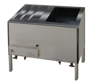 Stainless container for X-ray film processing BR-1