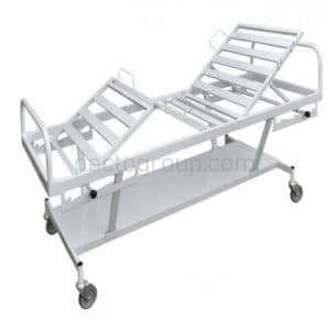 Four-section functional bed КF-4М with shelf